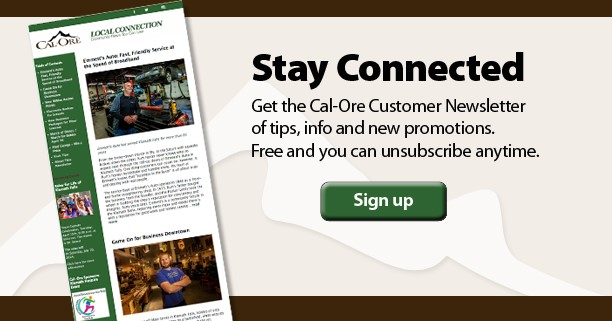 Sign up for the Cal-Ore Newsletter